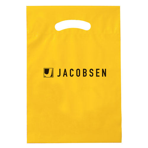 Yellow Custom Promotional Plastic Bag