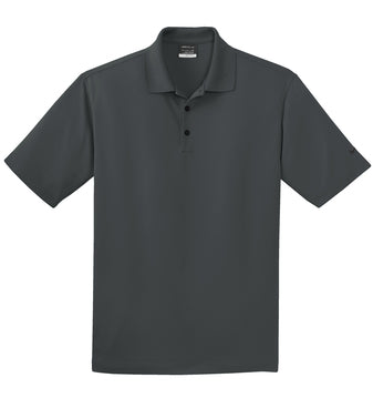 Anthracite Nike Tall Dri-FIT Micro Pique Polo With Logo