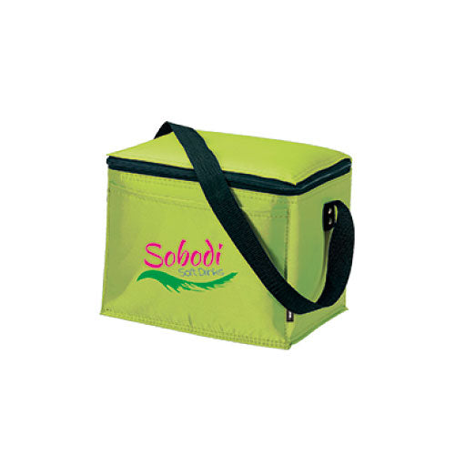 Apple Green Custom 6 Pack Cooler Bag