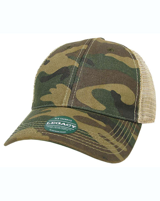 Army Camo Custom LEGACY - Old Favorite Trucker Hat