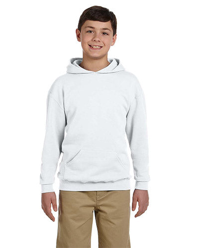 Ash Custom Jerzees Youth Hooded Sweatshirt