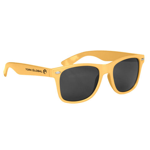 Athletic Gold Custom Malibu Sunglasses