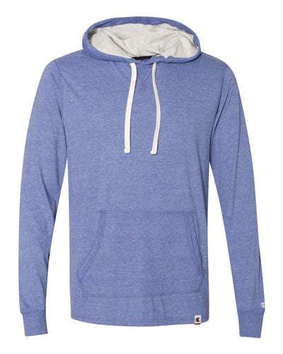 Athletic Royal Custom Champion Originals Triblend Hooded Pullover