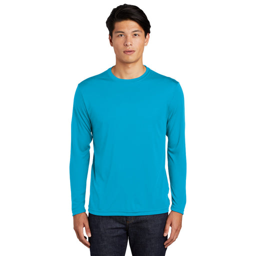 Custom Long Sleeve Dry Performance T-Shirt with logo