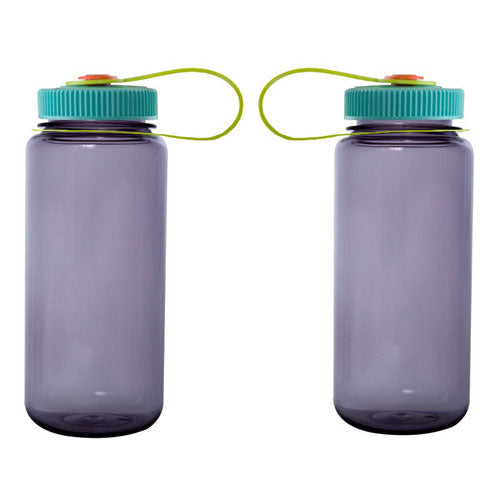 Aubergine Custom Nalgene 16oz Wide Mouth Bottle