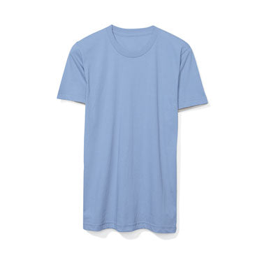 Baby Blue Custom American Apparel T-Shirt