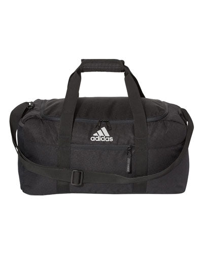 Black/ Black Custom Adidas - 35L Weekend Duffel Bag