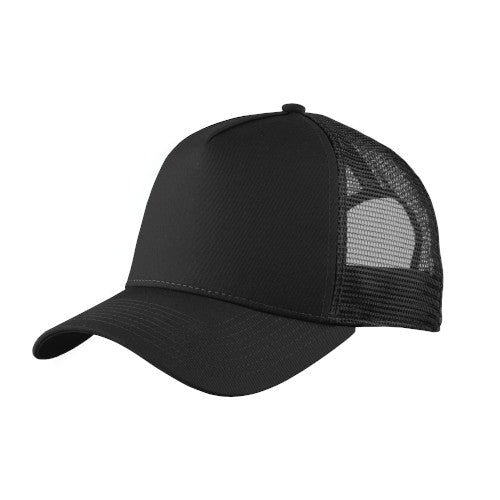 Black Custom New Era Snapback Trucker Cap