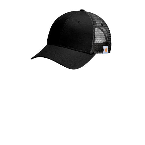 Black Custom Carhartt Rugged Professional Series Cap