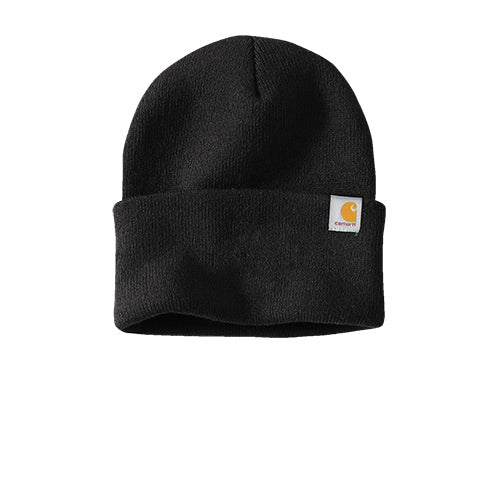 Black Custom Carhartt Watch Hat