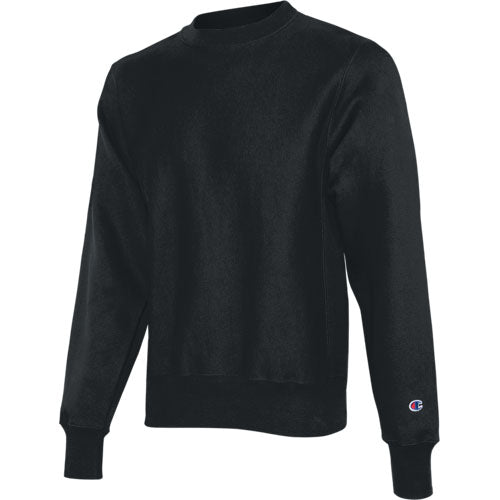 Black Custom Champion Heavyweight Sweatshirt
