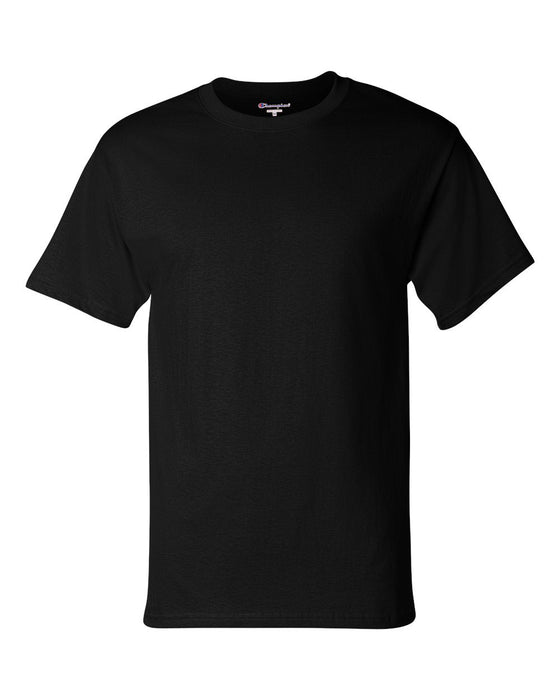 Black Custom Champion Short Sleeve T-Shirt