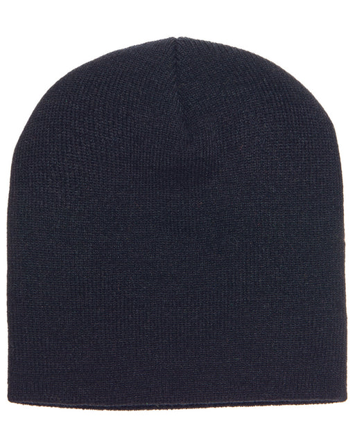 Black Custom Beanie Hat