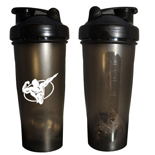 Black Custom Blender Bottle