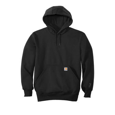 Black Custom Carhartt Rain Defender Heavyweight Hoodie
