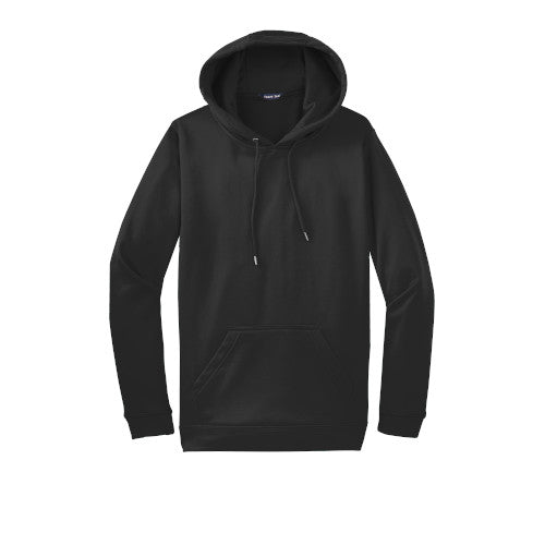 Black Custom Dry Performance Hoodie Sweatshirt