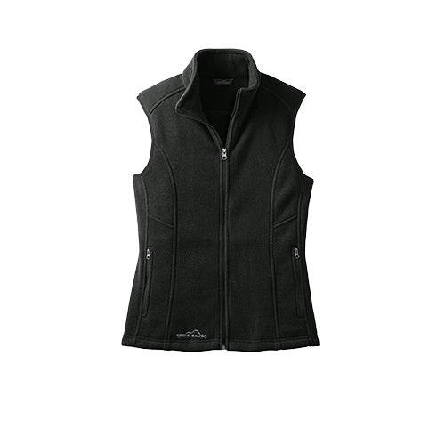 Black Custom Eddie Bauer Ladies Fleece Vest