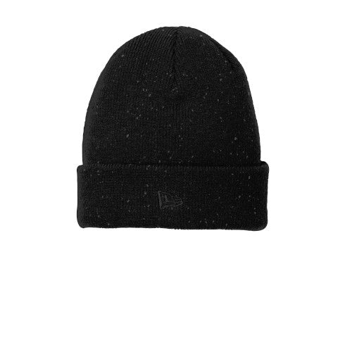 Black Graphite Custom New Era Speckled Beanie