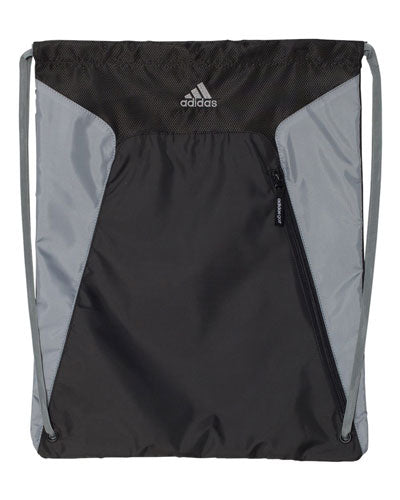 Black/ Grey Custom Adidas - Gym Sack