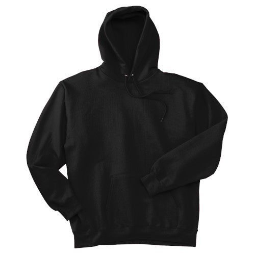 Black Custom Hanes Hooded Sweatshirt