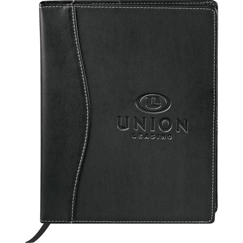 Black Custom Hardcover Journal Notepad