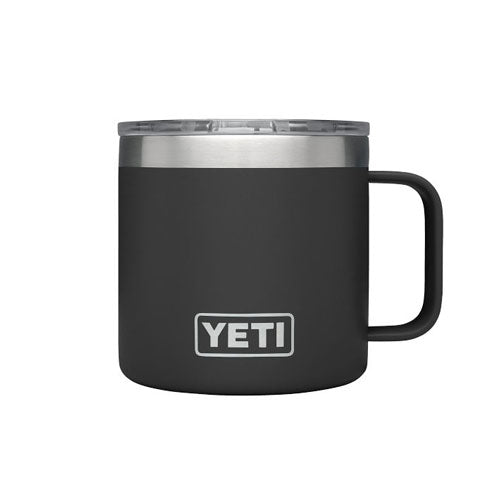Black Custom YETI 14 oz Rambler Mug