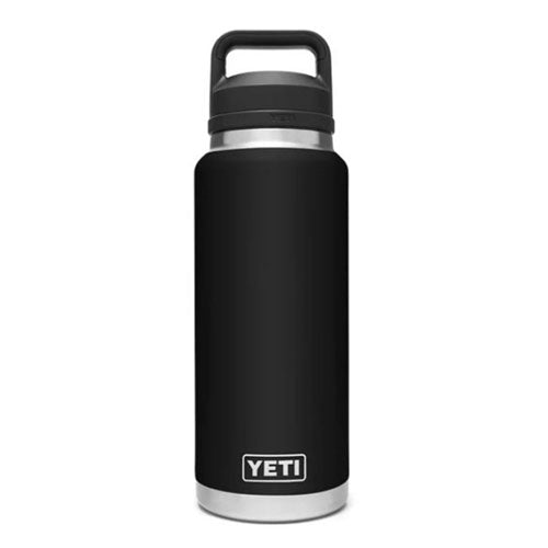 Black Custom YETI 36 oz Rambler Bottle