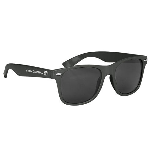 Black Custom Malibu Sunglasses