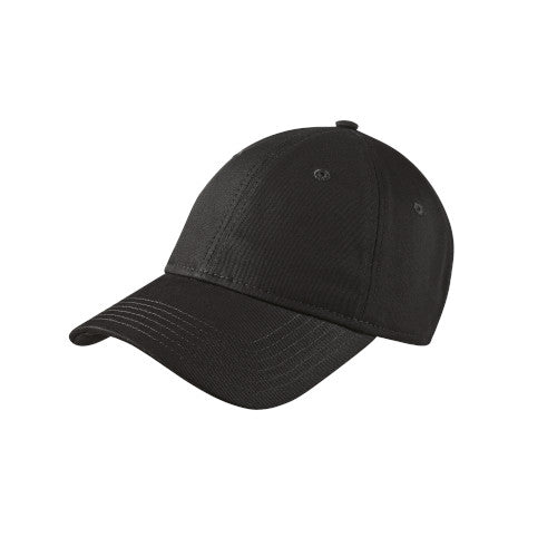 Black Custom New Era Adjustable Unstructured Cap