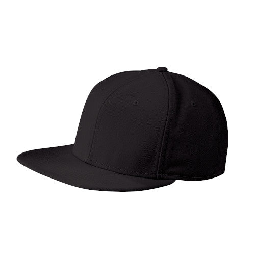 Black Custom New Era Original Fit Flat Bill Snapback Cap