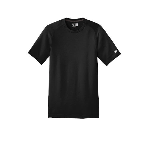 Black Custom New Era Series Performance Crew Tee
