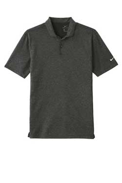 Black Nike Dri-FIT Prime Polo With Logo