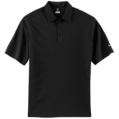 Black Nike Tech Dri-FIT Polo With Logo