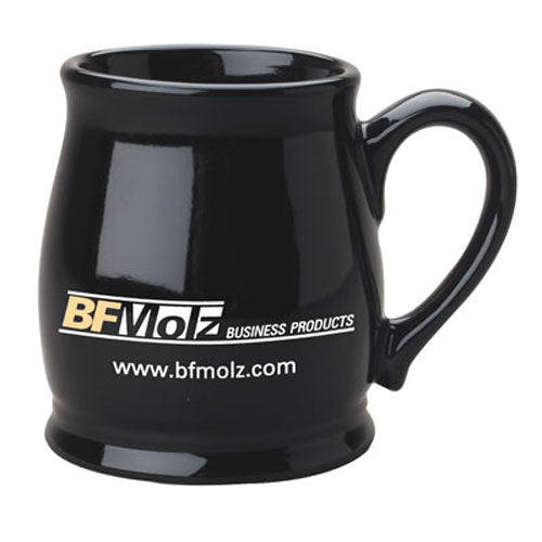 Black Custom Spokane Coffee Mug