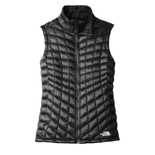 Black The North Face Ladies Thermoball Trekker Vest