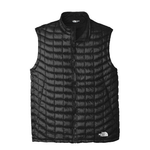Black Custom The North Face ThermoBall Trekker Vest Jacket