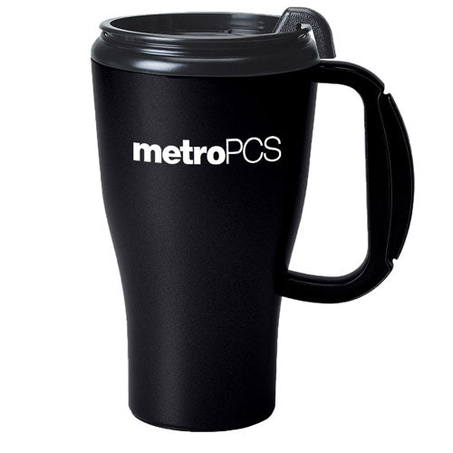 Black Custom Travel Mug 16oz