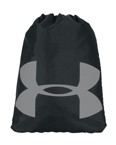 Black Custom Under Armour Cinch Sack