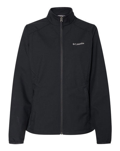 Black Custom Columbia Women's Kruser Ridge Softshell Jacket