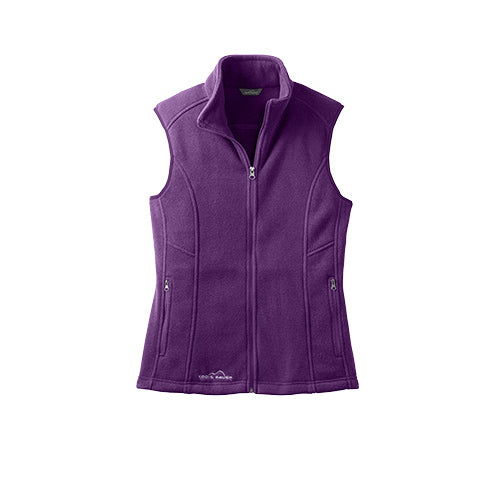 Blackberry Custom Eddie Bauer Ladies Fleece Vest