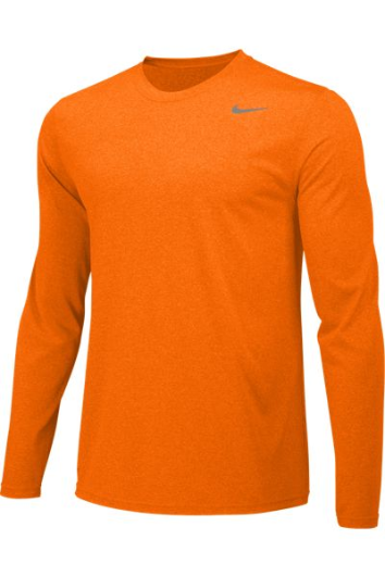Bright Ceramic Custom Nike Dri-FIT Long Sleeve T-Shirt