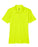 Bright Yellow Ladies Dry Wicking Polo With Logo