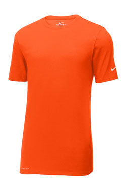 Brilliant Orange Custom Nike Cotton T-Shirt