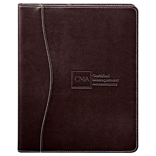 Brown Custom Hardcover Journal Notepad