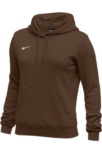 Brown Nike Ladies Hoodie