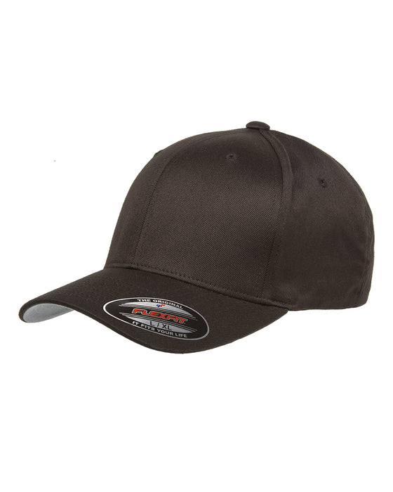 Brown Custom Yupoong Flexfit Cap Hat