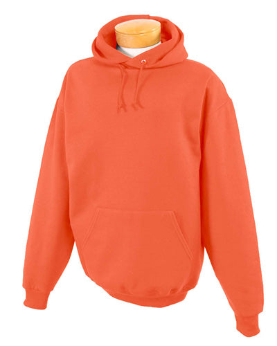 Burnt Orange Custom Jerzees Youth Hooded Sweatshirt