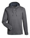 Carbon Heather/Steel Custom Under Armour Team Hoodie