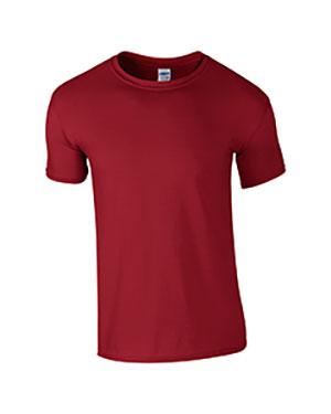 Cardinal Red Custom Gildan Soft Style T-Shirt
