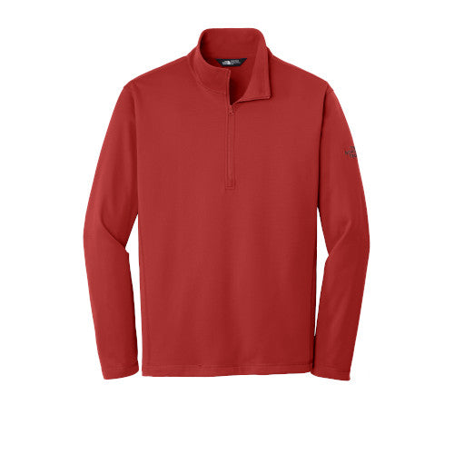 Cardinal Red Custom The North Face Tech Quarter Zip Fleece Jacket